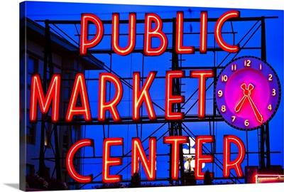 Public Market Sign II