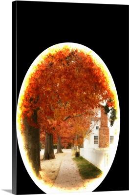Small Town Autumn I