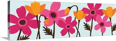 Spring Bouquet Panel II