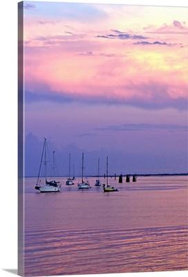St. Augustine Harbor Sunset 4