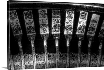 Typewriter Keys I