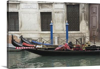 Venice Gondolas I
