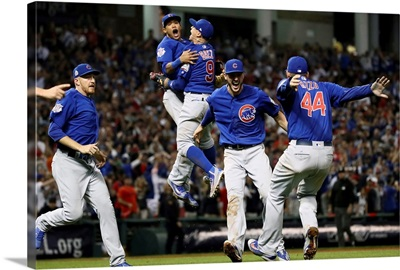 2016 World Series: The Cubs celebrate after defeating the Indians 8-7 in Game Seven