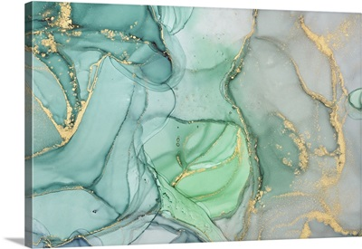 Abstract Colorful Marble Texture, Alcohol Ink Colors Translucent