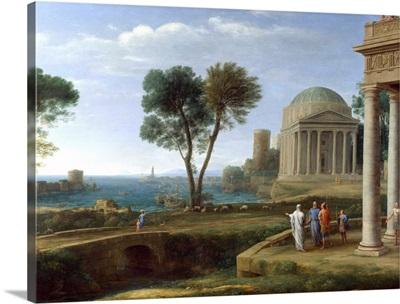 Aeneas In Delos By Claude Lorrain