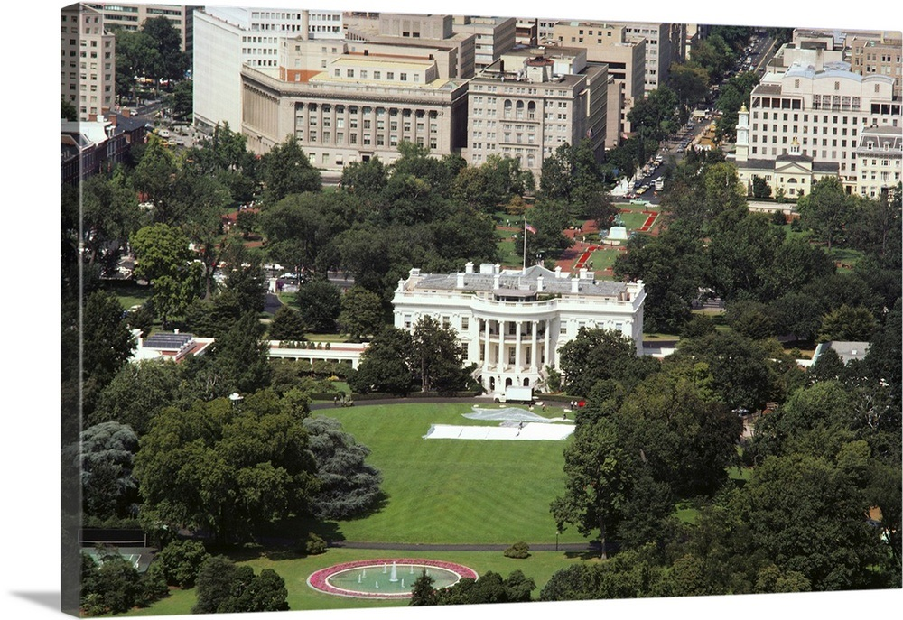 Swell Aerial View Of A Government Building White House Washington Dc Usa Download Free Architecture Designs Scobabritishbridgeorg