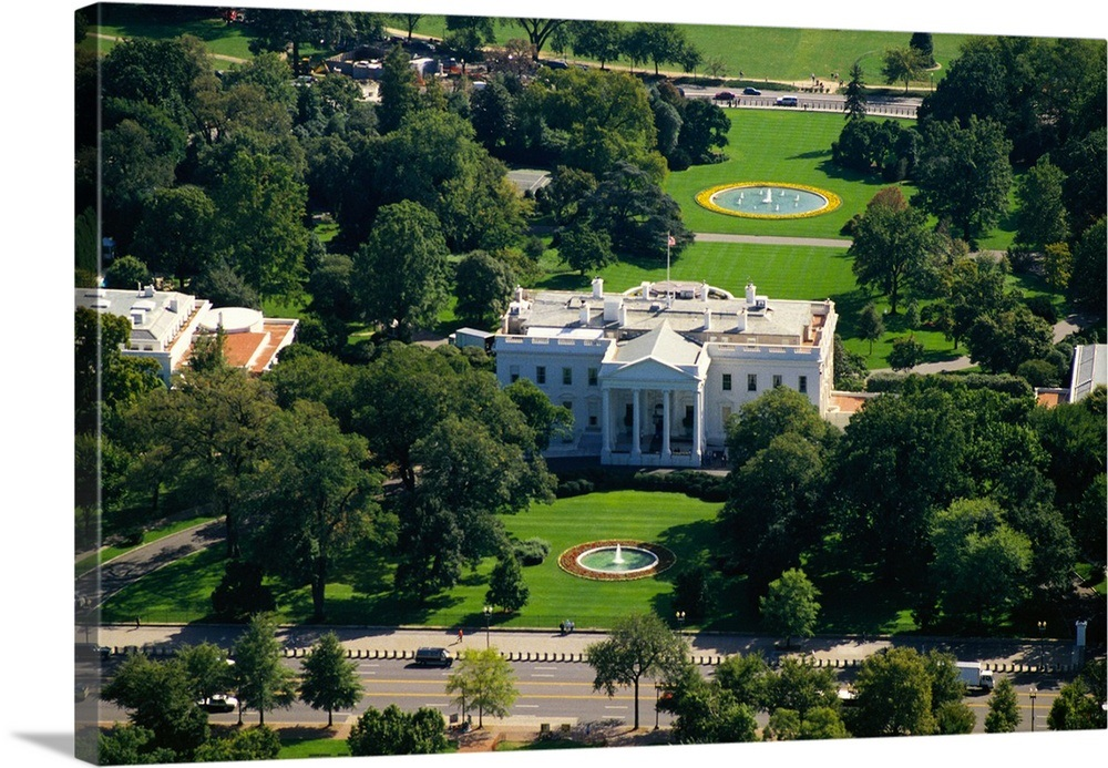 Incredible Aerial View Of A Government Building White House Washington Dc Usa Download Free Architecture Designs Scobabritishbridgeorg