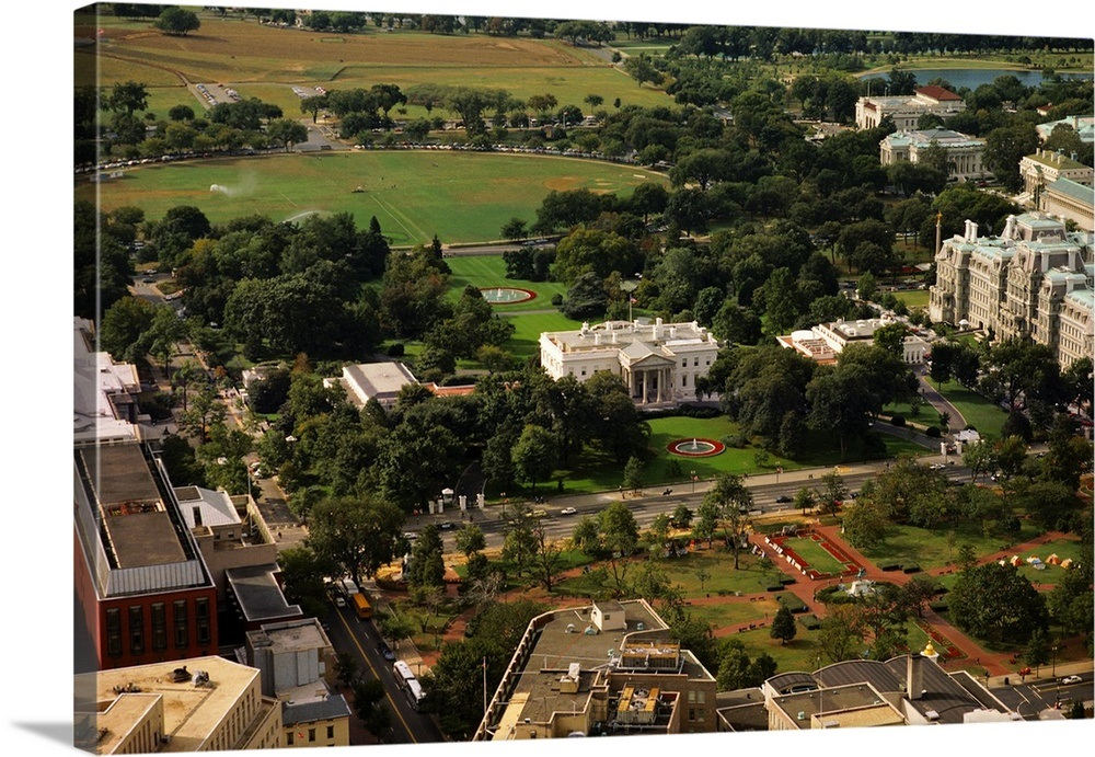 Brilliant Aerial View Of A Government Building White House Washington Dc Usa Download Free Architecture Designs Scobabritishbridgeorg