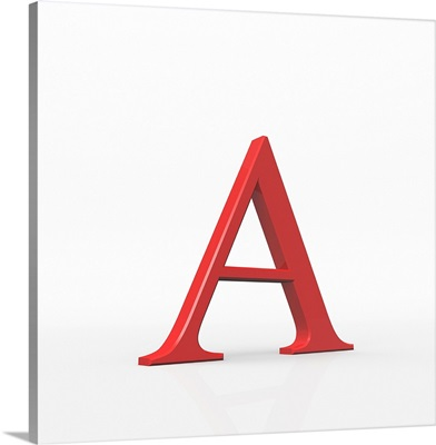 Alpha is the first letter of the Greek alphabet