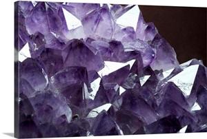 Amethyst Crystals Wall Art Canvas Prints Framed Prints
