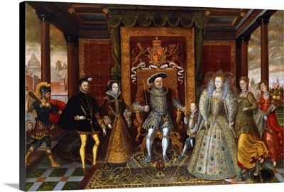 An Allegory Of The Tudor Succession: The Family Of Henry VIII