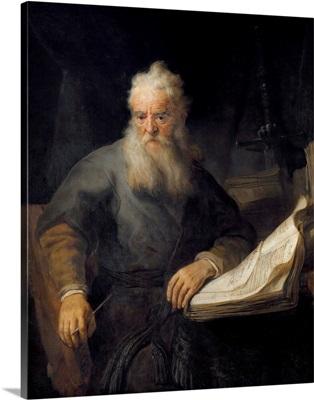 Apostle Paul by Rembrandt van Rijn