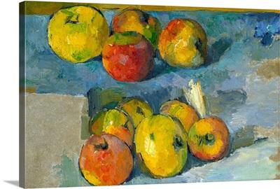 Apples By Paul Cezanne