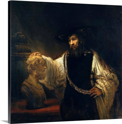 Aristotle With A Bust Of Homer By Rembrandt Harmensz Van Rijn