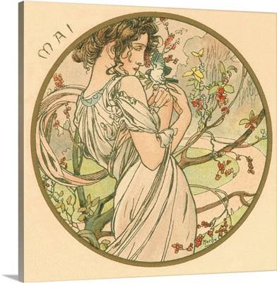 Art Nouveau Mai (May)