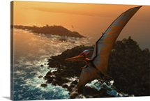 Artwork of pteranodon sternbergi