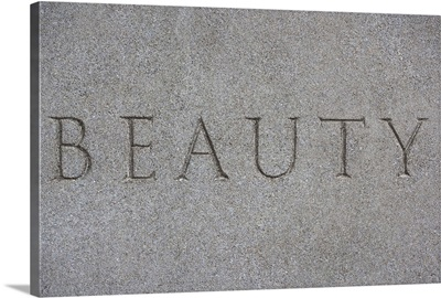 beauty etched in stone