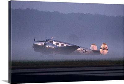 Beech 18 aircraft