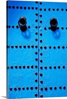 Blue Moroccan Door