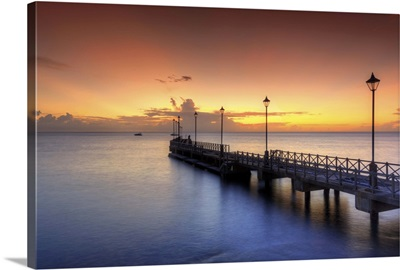 Boat jetty, Speighstown, Barbados