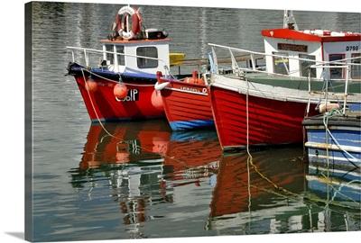 Boats at Howth