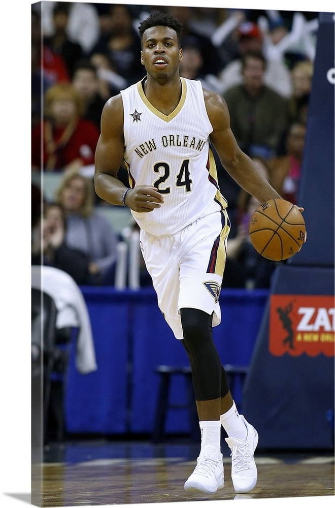 best sneakers f5087 033c6 Buddy Hield 24 of the New Orleans Pelicans drives with the ball