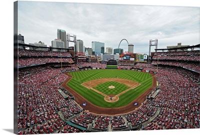 Busch Stadium, home of the St. Louis Cardinals, 2015