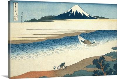 Bushu Tamagawa (The Tama River In Musashi Province) By Katsushika Hokusai