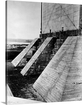 Buttresses Under Foundation Of The Washington Monument
