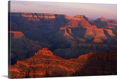 Canyon landscape, Grand Canyon, Arizona