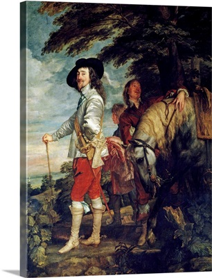 Charles I at the Hunt by Anthony van Dyck