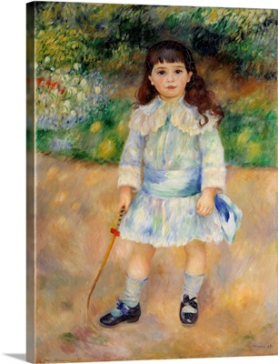 Child With a Whip by Pierre-Auguste Renoir