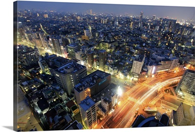 City of Tokyo at night