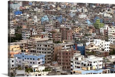 City view of Dhaka, Bangladesh.