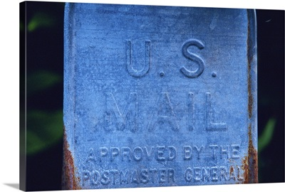 Close Up Image of Letter Box, Close Up