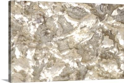 Close-up of metallic rock