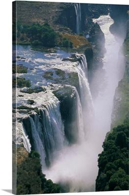 Close-Up Of Victoria Falls