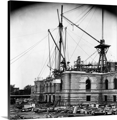 Construction Of The Library Of Congress Photos May 4, 1892