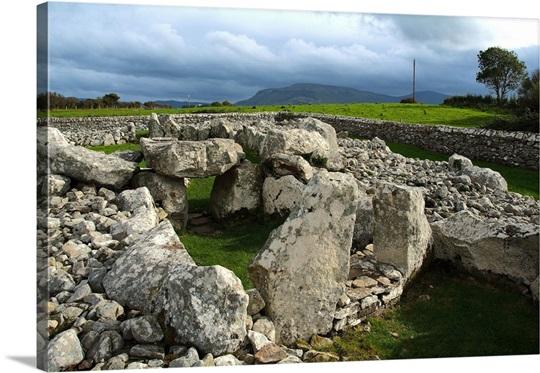 creevykeel pre historic burial site near cliffony sligo ireland