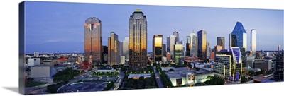 Dallas Skyline, Texas
