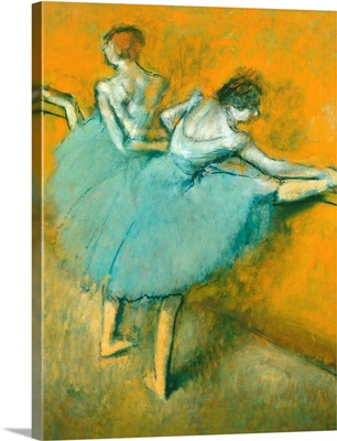 Dancers At The Barre By Edgar Degas