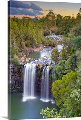 Dangar Falls at Sunset, Dorrigo, NSW, Australia.