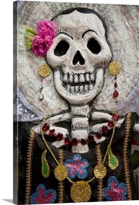 Day Of The Dead Skeleton Art, Oaxaca, Mexico
