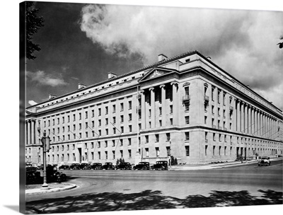 Department Of Justice Building In Washington D. C