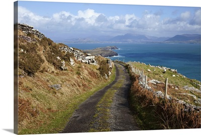 Dirt road in County Kerry, Ireland