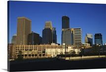 Downtown Minneapolis skyline, Minnesota