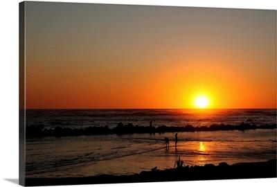 El Salvador at sunset
