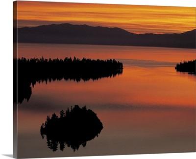 Emerald Bay at dawn, Lake Tahoe, USA