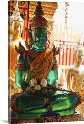 emerald buddha at doi suteph temple