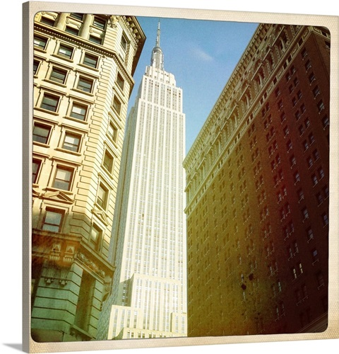 Empire State building, New York, USA. Wall Art, Canvas Prints ...